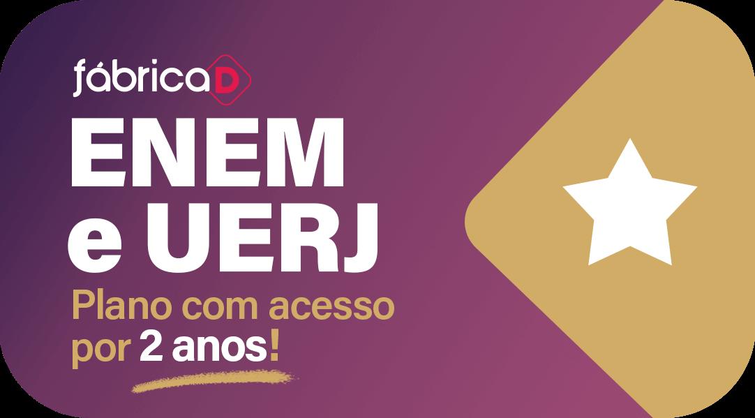 EXTENSIVO ENEM/UERJ/VESTIBULARES ISOLADOS 2022 PREMIUM (ACESSO POR DOIS ANOS)