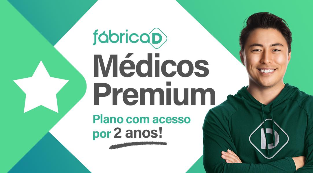 FÁBRICA DE MÉDICOS - 2020 ( EXTENSIVO MEDICINA  PREMIUM - ACESSO POR DOIS ANOS)