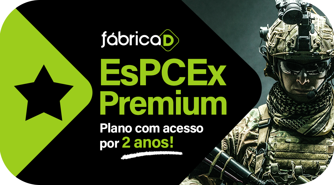 ESPCEX 2021 - FÁBRICA DE MILITARES ( ACESSO POR DOIS ANOS)