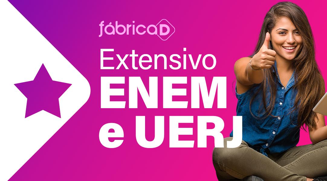 EXTENSIVO ENEM/UERJ PREMIUM (ACESSO ATÉ O FINAL DE 2021)
