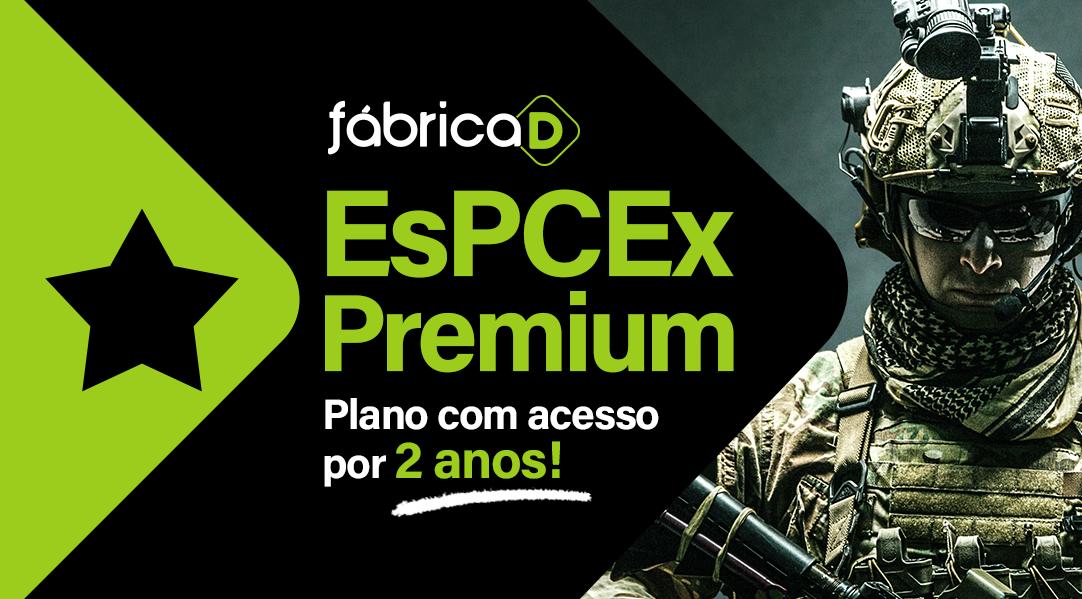 FÁBRICA DE MILITARES 2020 ( TURMA ESPCEX) - BLACK FRIDAY (PLANO COM ACESSO ATÉ O FINAL DE 2021)